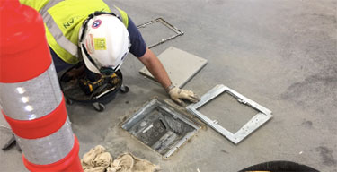 Floor box for electrical