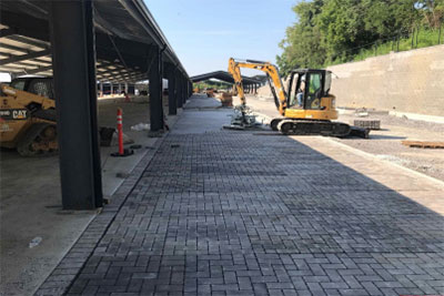 Shed 1 pavers
