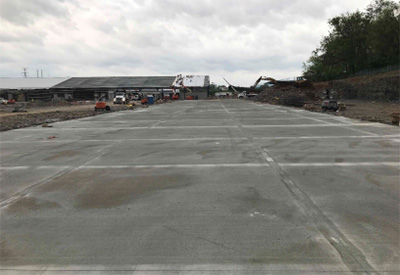 concrete slab for shed 1