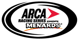 ARCA Racing Series powered by Menards logo