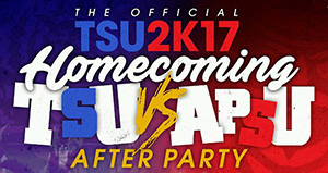 TSU 2K17 HomeComing After Party logo
